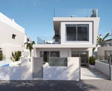 Nieuwbouw Villa Te koop in Torre De La Horadada in Spanje, gelegen aan de Costa Blanca-Zuid