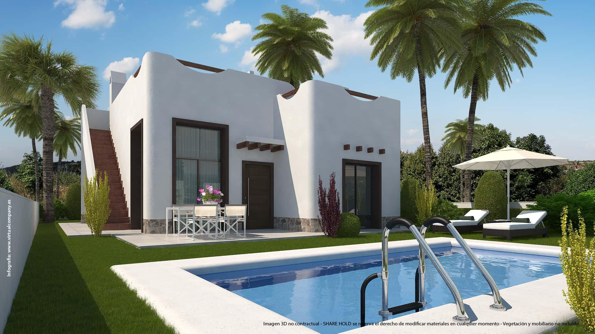 Villa te koop in Ciudad Quesada (Spanje, Costa Blanca)