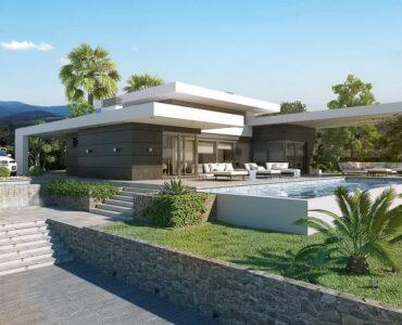 Nieuwbouw Villa Te koop in Jávea in Spanje, gelegen aan de Costa Blanca-Noord