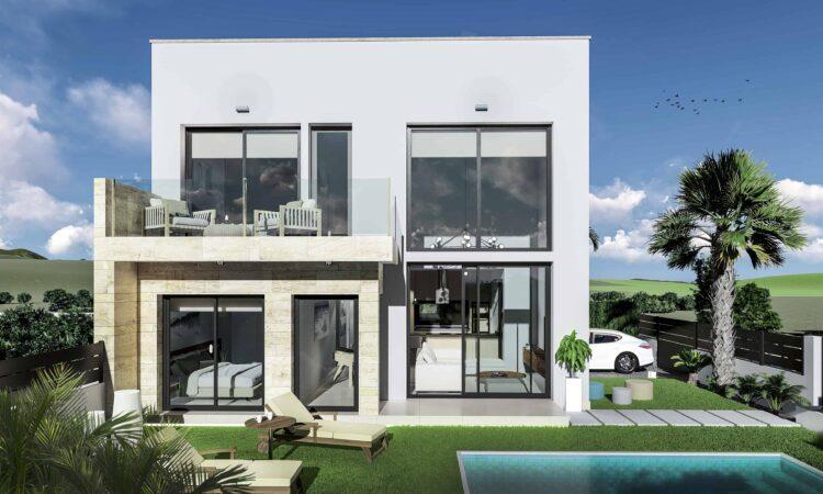Nieuwbouw Huis Te koop in Daya Vieja in Spanje, gelegen aan de Costa Blanca-Zuid