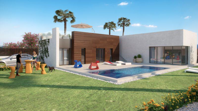 Nieuwbouw Villa Te koop in Algorfa in Spanje, gelegen aan de Costa Blanca-Zuid