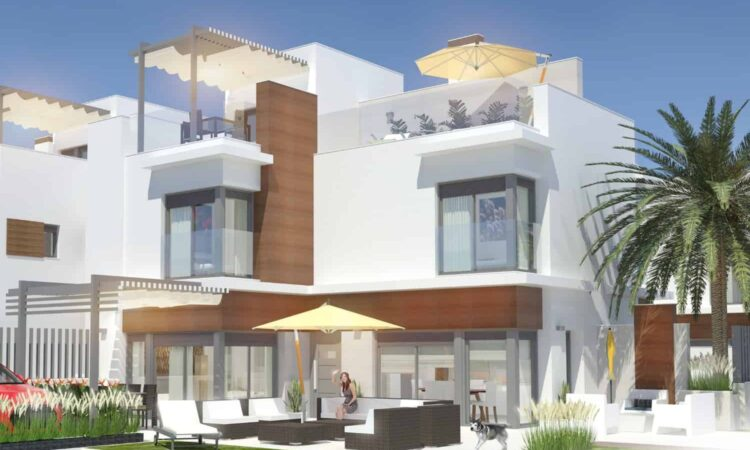 Nieuwbouw Huis Te koop in Santiago De La Ribera in Spanje, gelegen aan de Costa Cálida