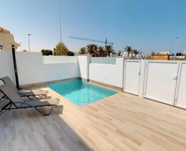 Nieuwbouw Villa Te koop in San Pedro Del Pinatar in Spanje, gelegen aan de Costa Cálida