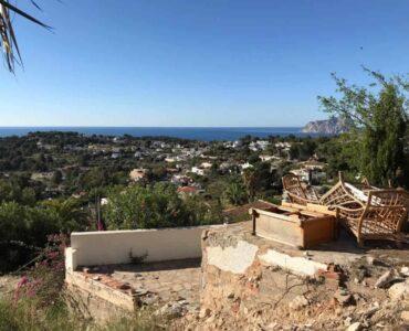 Resale Grondstuk Te koop in Moraira in Spanje, gelegen aan de Costa Blanca-Noord
