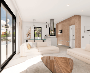 Nieuwbouw Villa Te koop in Aguilas in Spanje, gelegen aan de Costa Cálida