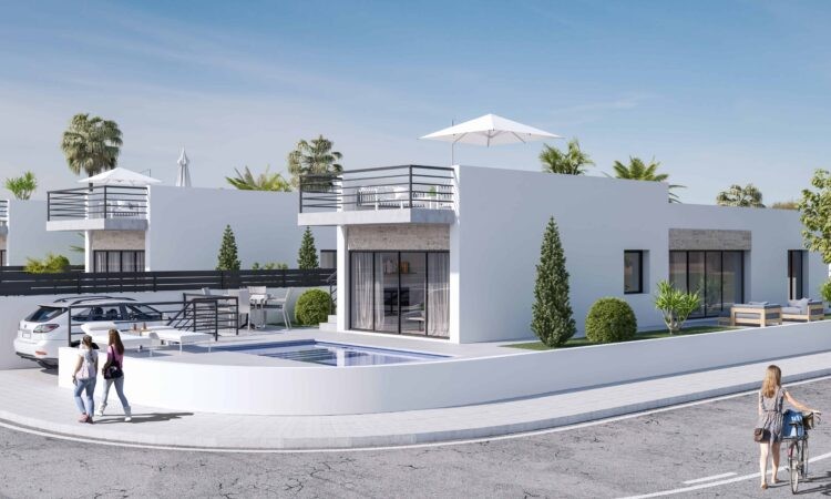 Nieuwbouw Villa Te koop in Daya Nueva in Spanje, gelegen aan de Costa Blanca-Zuid
