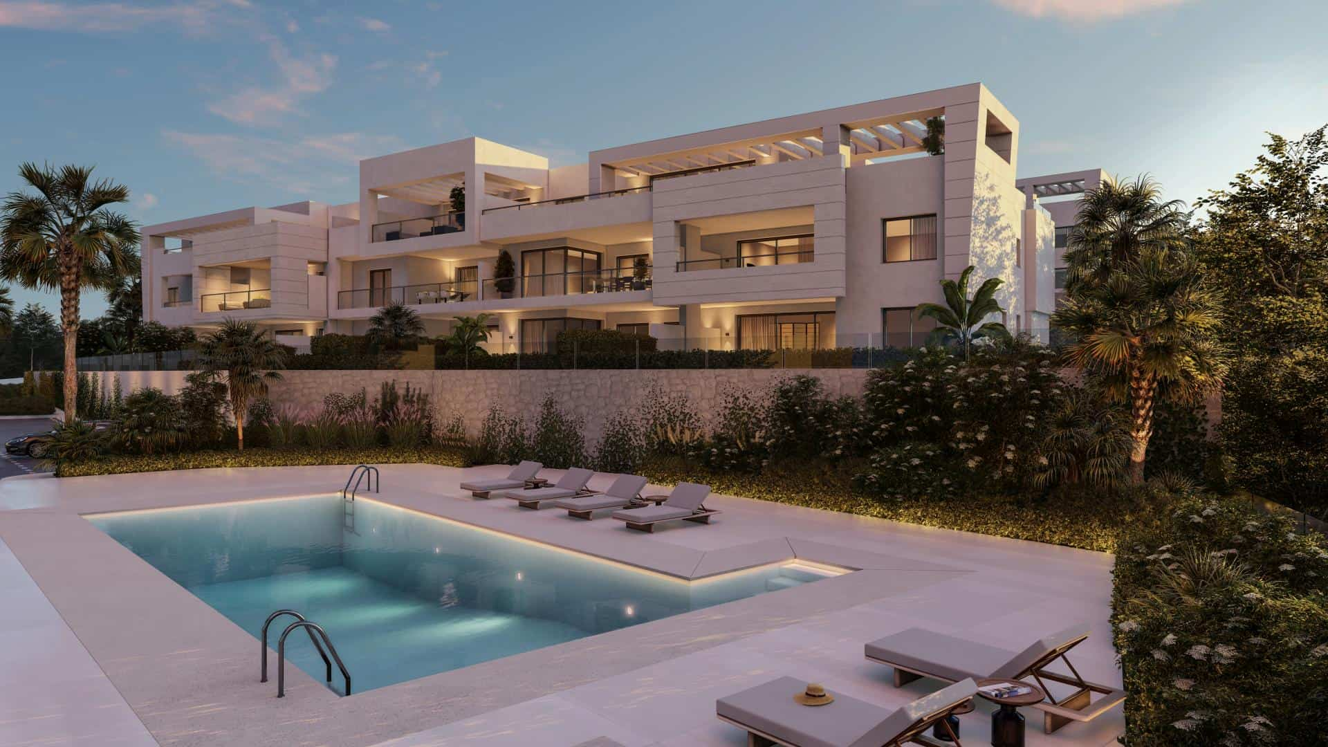 Nieuwbouw project in Casares (Spanje, Costa del Sol)