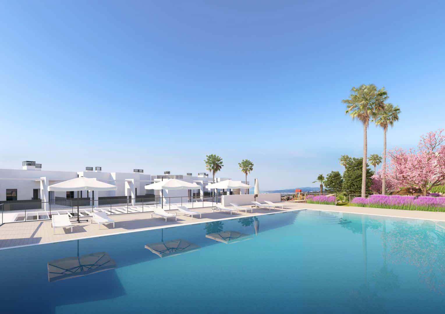 Nieuwbouw project in Manilva (Spanje, Costa del Sol)