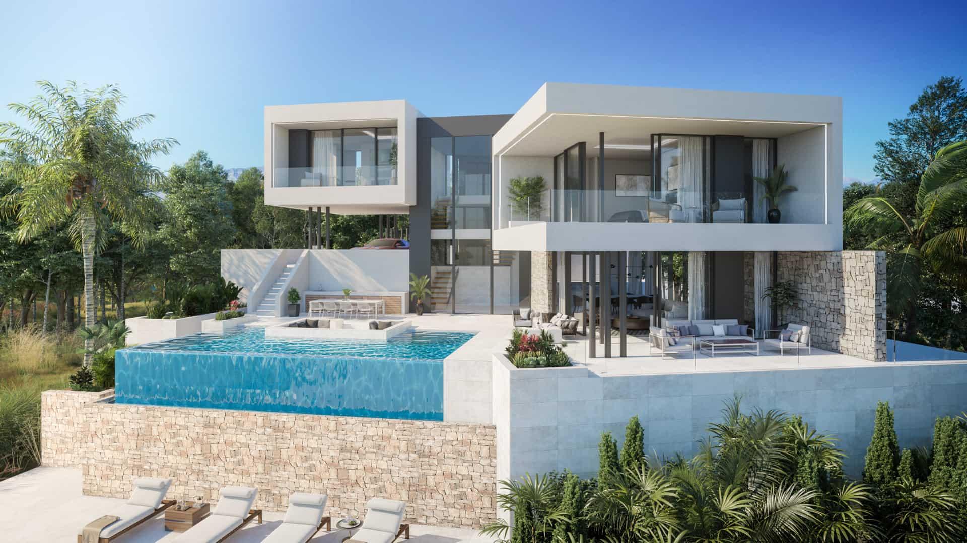 Nieuwbouw project in Mijas (Spanje, Costa del Sol)