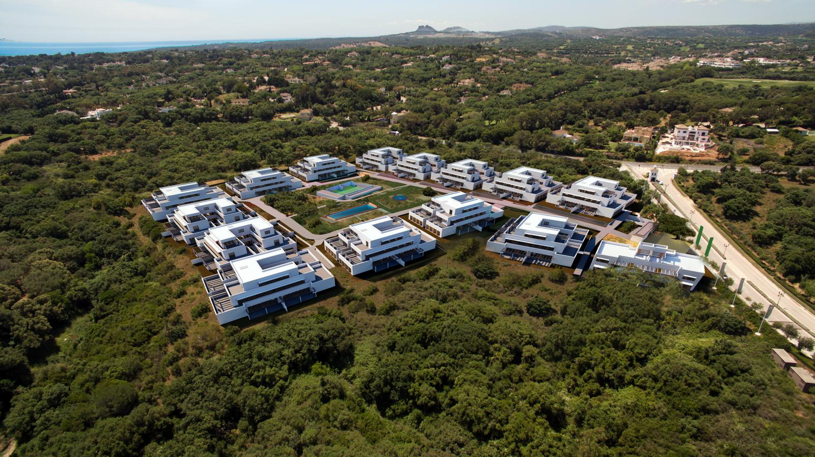 Nieuwbouw in Sotogrande (Spanje, Costa del Sol)