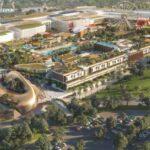 Het nieuwe winkel- en vrijetijdscentrum in Torremolinos