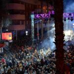 Het Cos Blanc 'confetti' feest in Salou viert 40-jarig jubileum