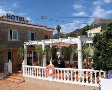 Resale Commercieel Te koop in Calpe in Spanje, gelegen aan de Costa Blanca-Noord
