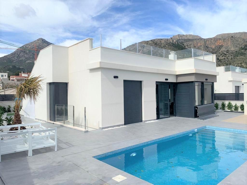 Villa te koop in Polop (Spanje, Costa Blanca)