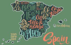Hoe heet iemand die in Spanje woont in het Spaans?