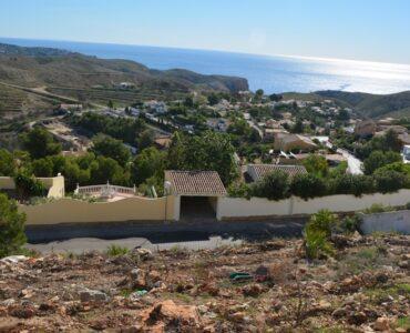Resale Grondstuk Te koop in Benitachell in Spanje, gelegen aan de Costa Blanca-Noord