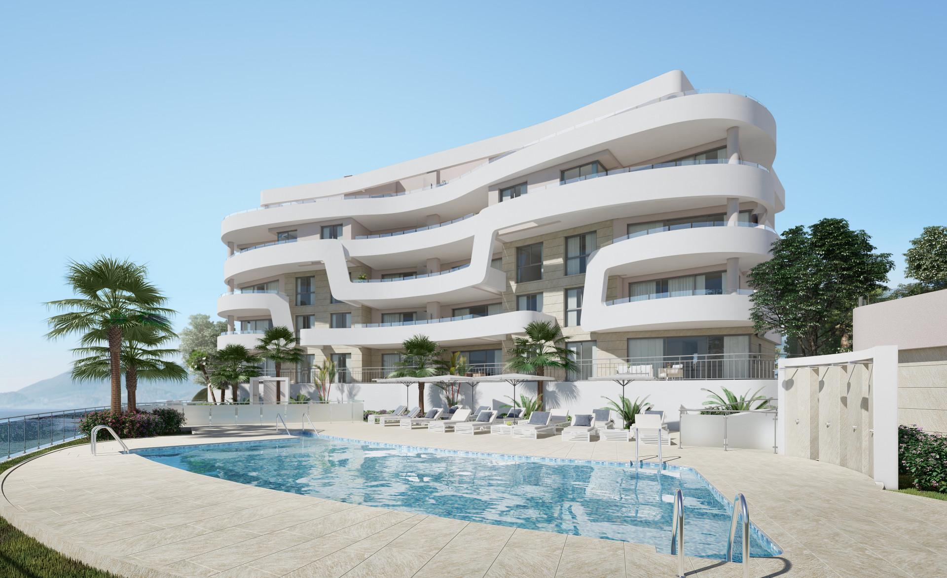 Nieuwbouw in Mijas Costa (Spanje, Costa Del Sol)