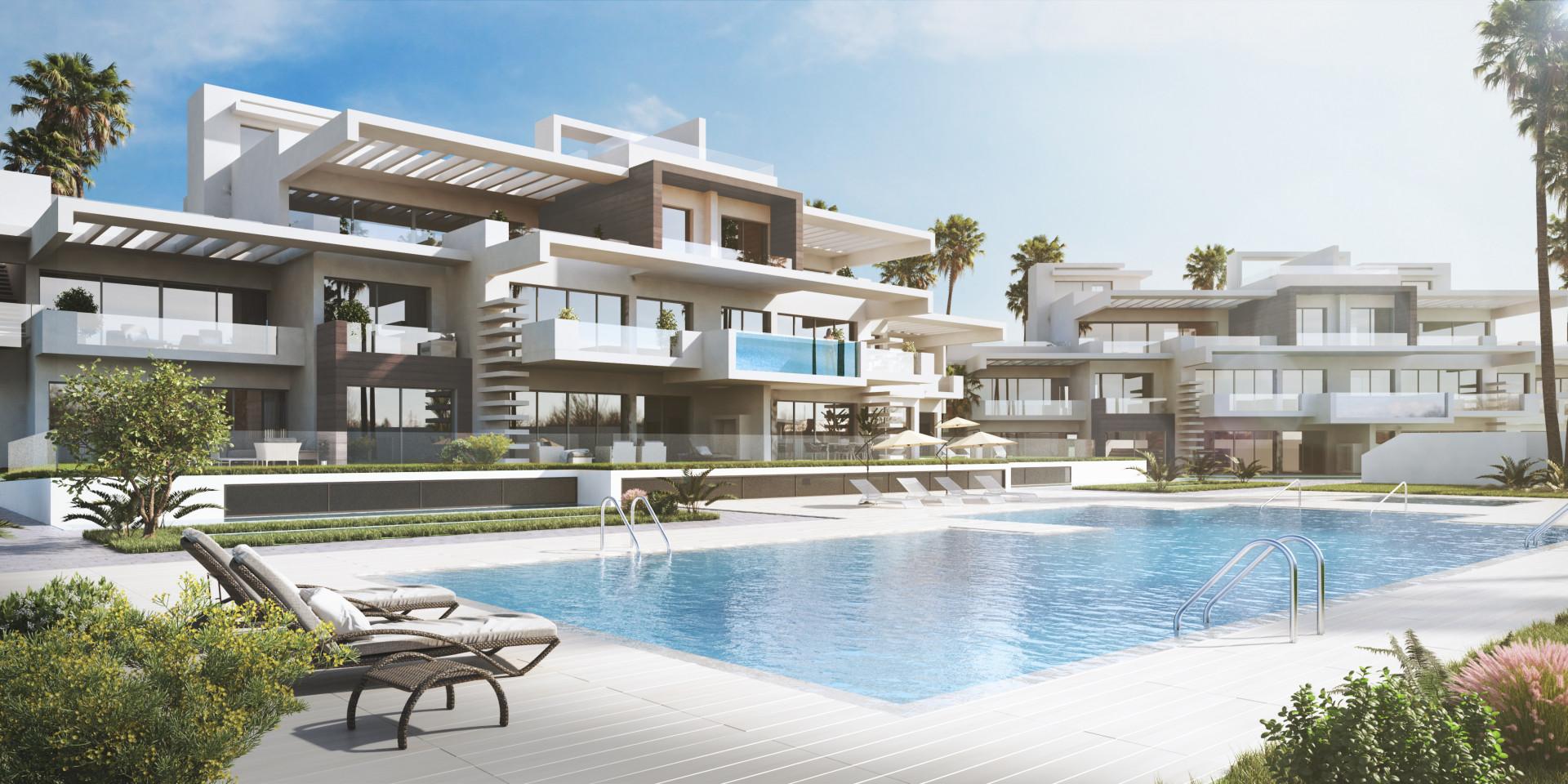 Nieuwbouw in Marbella Golden Mile (Spanje, Costa del Sol)
