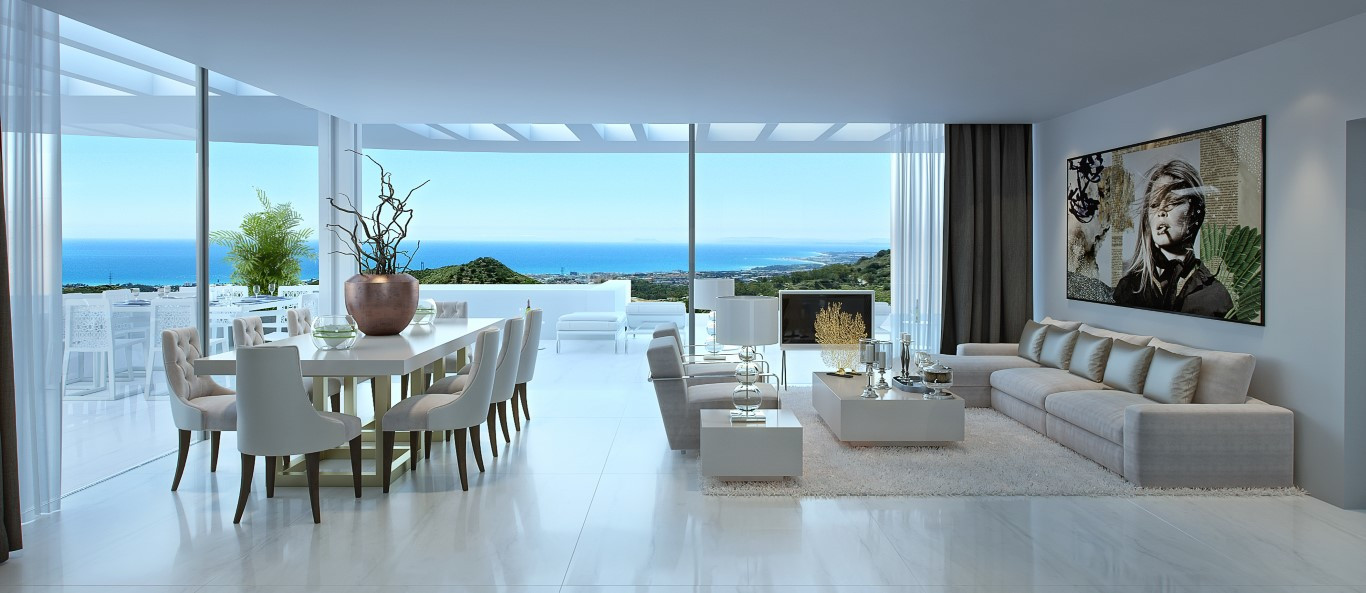 Nieuwbouw project in Ojen (Spanje, Costa del Sol)
