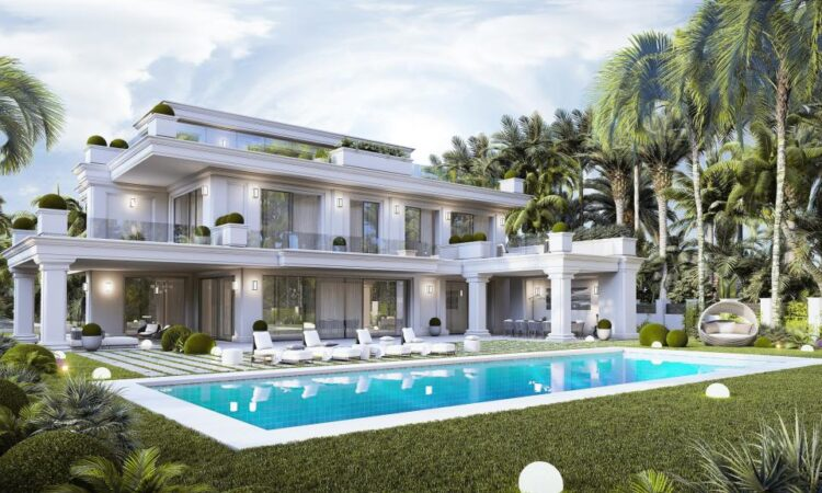 Nieuwbouw Project  in The Golden Mile in Spanje, gelegen aan de Costa del Sol-West