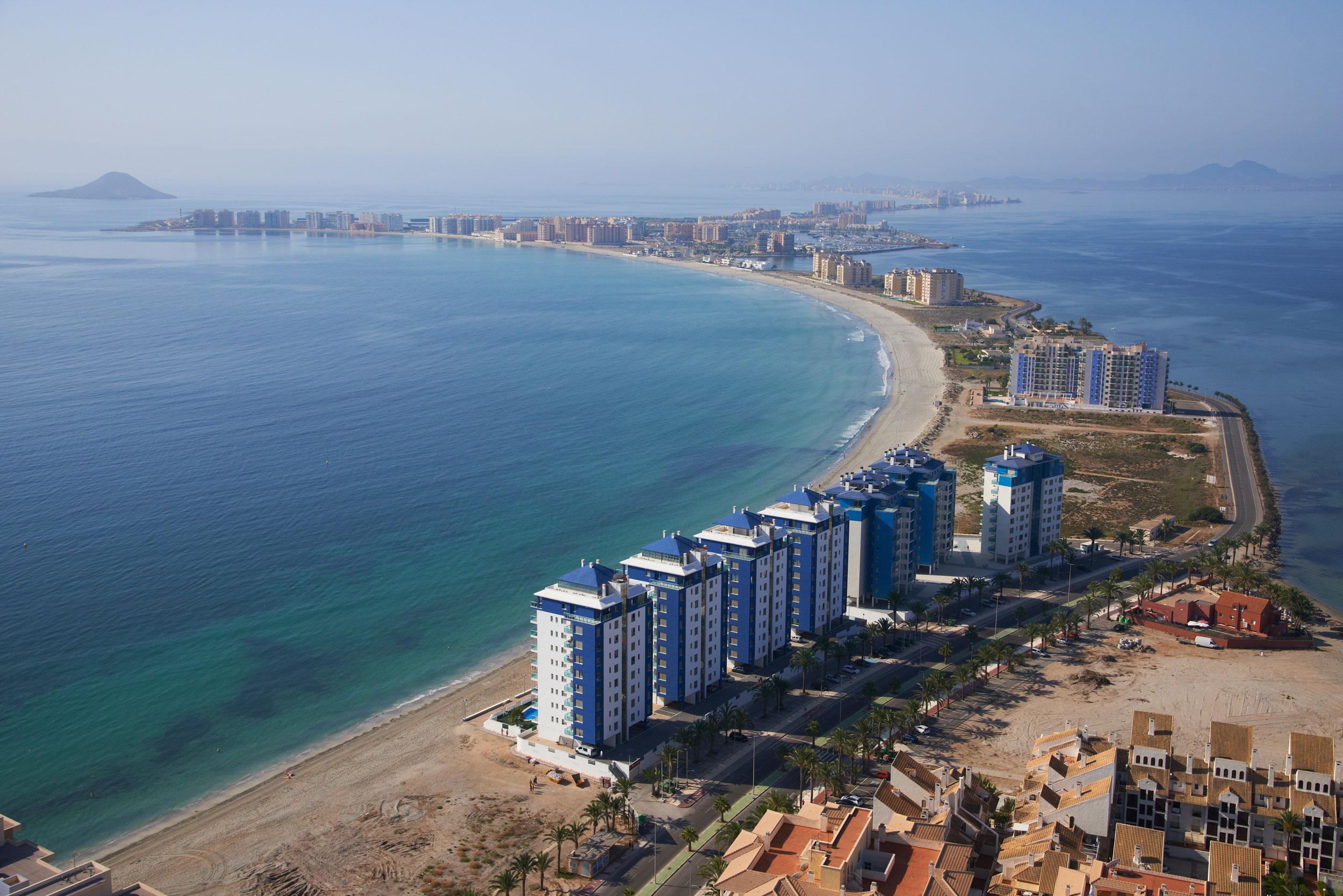 Nieuwbouw in La Manga del Mar Menor (Spanje, Costa Calida)