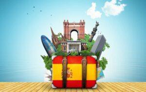 Internationale toerisme in Spanje met 93,6% gedaald in februari