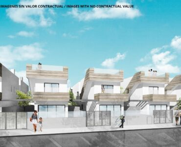 Nieuwbouw Villa Te koop in Santiago De La Ribera in Spanje, gelegen aan de Costa Cálida