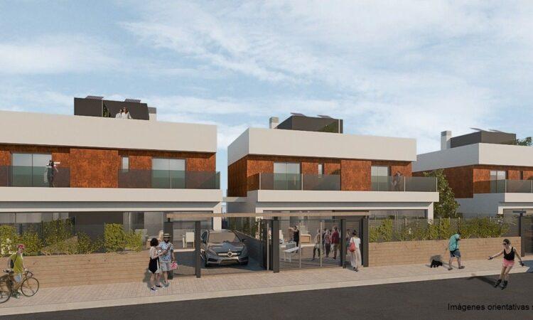 Nieuwbouw Huis Te koop in Torre De La Horadada in Spanje, gelegen aan de Costa Blanca-Zuid