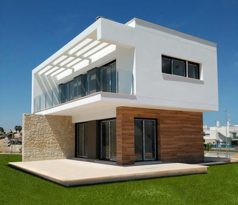 Nieuwbouw villas in Benissa (Spanje, Costa Blanca)