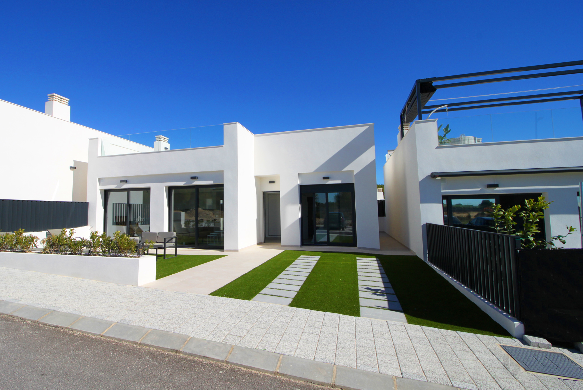 Nieuwbouw villa's in Pilar De La Horadada (Spanje, Costa Blanca)