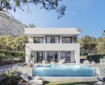 Nieuwbouw Villa Te koop in La Duquesa in Spanje, gelegen aan de Costa del Sol-West