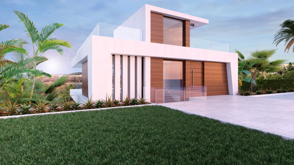 Nieuwbouw in Estepona (Spanje, Costa del Sol)