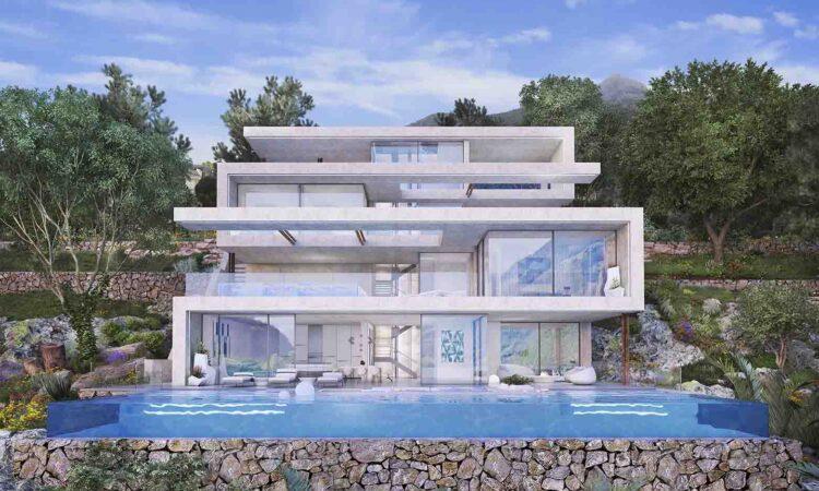 Nieuwbouw Villa Te koop in Istán in Spanje, gelegen aan de Costa del Sol-West