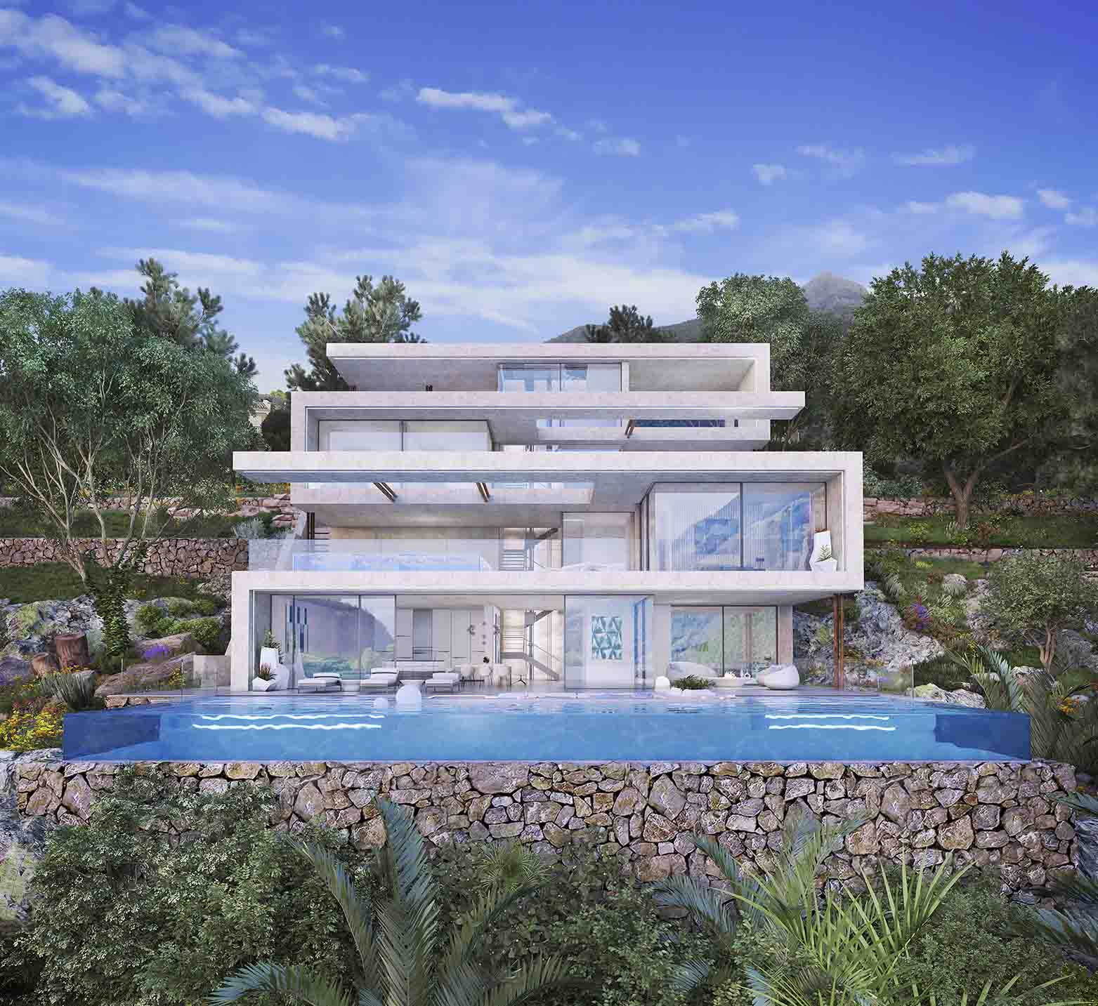 Nieuwbouw in Istán (Spanje, Costa del Sol)