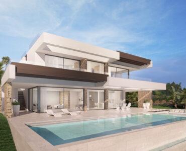 Nieuwbouw Villa Te koop in Elviria in Spanje, gelegen aan de Costa del Sol-Centro