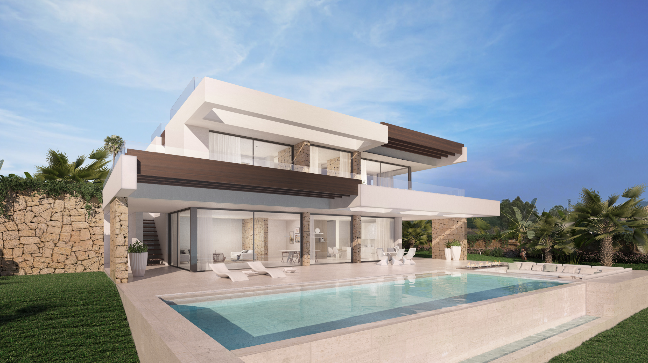 Nieuwbouw in Elviria (Spanje, Costa del Sol)
