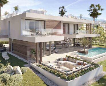 Nieuwbouw Villa Te koop in Estepona in Spanje, gelegen aan de Costa del Sol-West