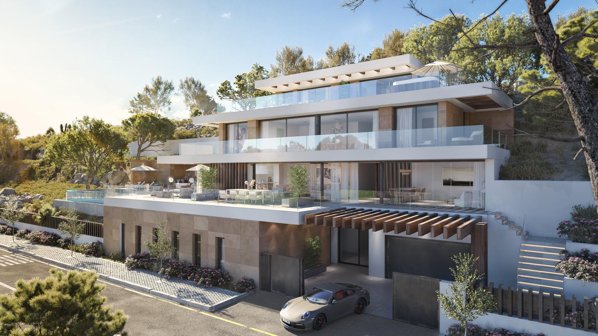 Nieuwbouw in Benahavis (Spanje, Costa del Sol)