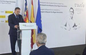 Vliegveld Costa Blanca heet vanaf nu oficieel Alicante-Elche Miguel Hernández