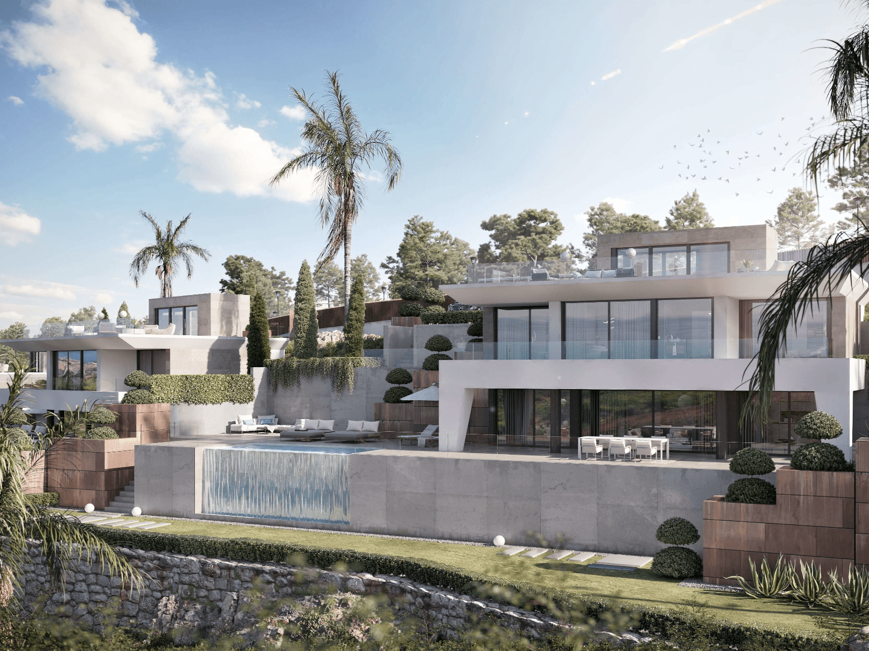 Nieuwbouw in La Duquesa (Spanje, Costa del Sol)