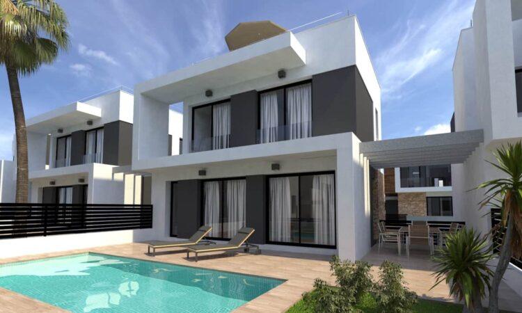 Nieuwbouw Villa Te koop in Cabo Roig in Spanje, gelegen aan de Costa Blanca-Zuid