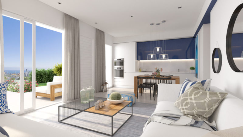 Nieuwbouw Huis Te koop in Benidorm in Spanje, gelegen aan de Costa Blanca-Noord
