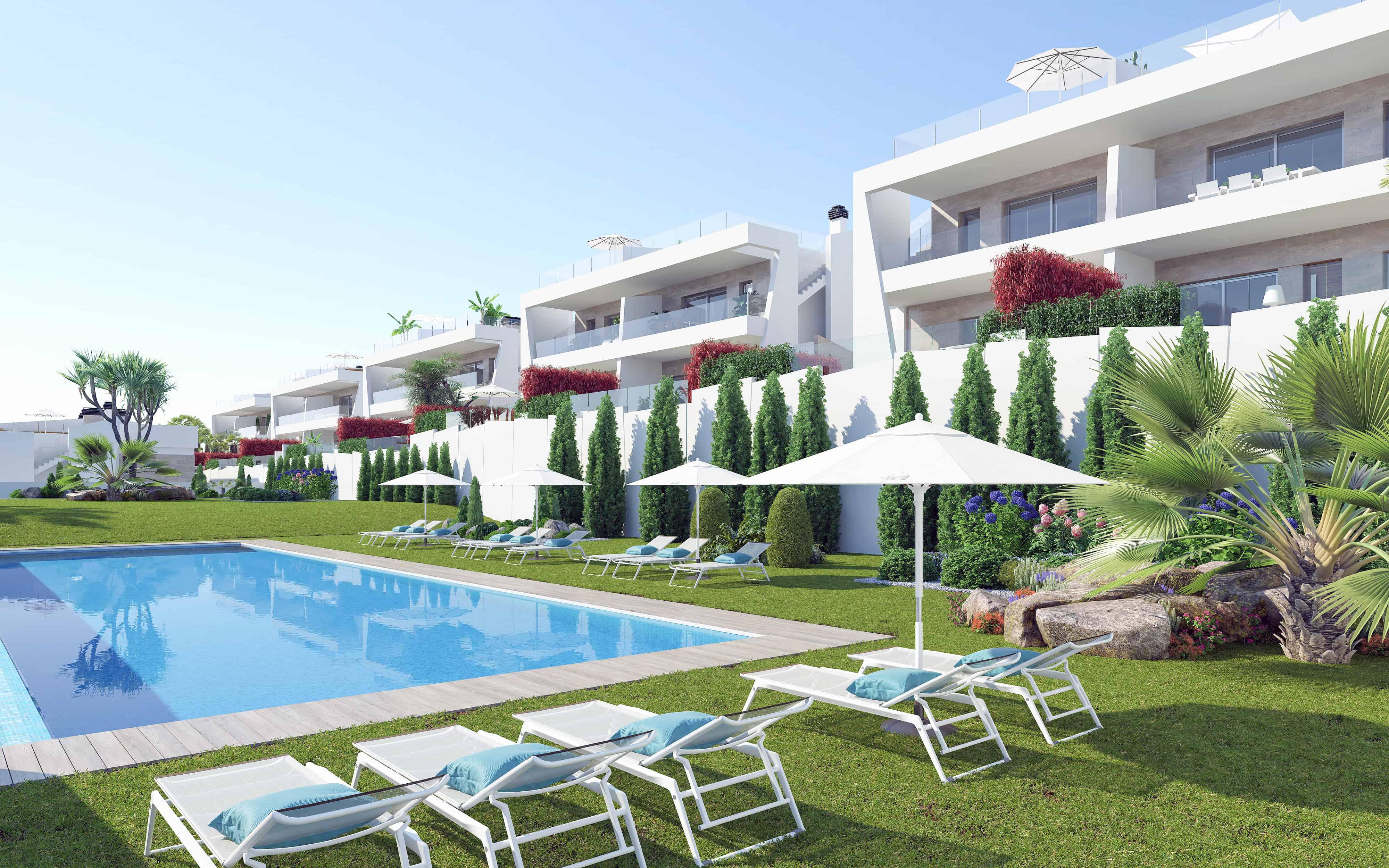 Nieuwbouw Villa Te koop in Orihuela in Spanje, gelegen aan de Costa Blanca-Zuid