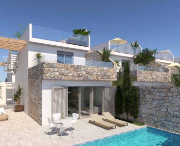 Nieuwbouw Villa Te koop in Los Alcazares in Spanje, gelegen aan de Costa Cálida